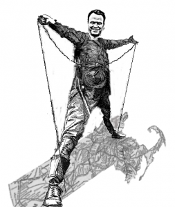 Can Eric Lesser bring West & East together? (cereated via wikipedia & Lesser campaign images)