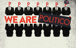 Politico's Next Expansion? Everywhere? (image created by WMassP&I from stills on Vimeo, Politico.com, google image search)