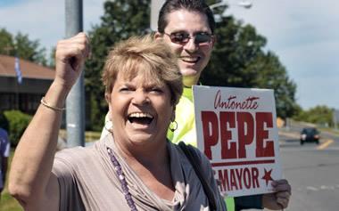 Antonette Pepe in 2011 (courtesy The Valley Advocate)