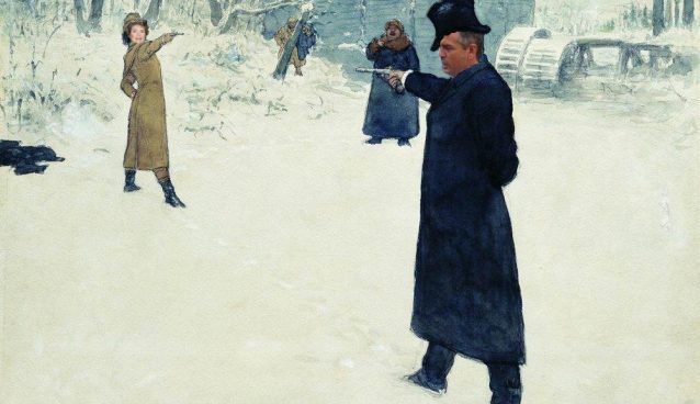 Will it come to this!? (created via candidate's social media & Ilya Repin painting)