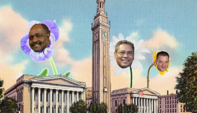 Is new hope for Springfield pols blossoming? (created via wikipedia, legislative photos and Facebook)
